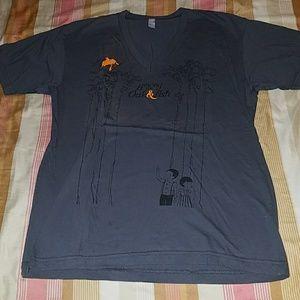 """""""Among the Oak & Ash"""" V neck shirt"""